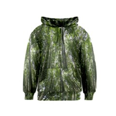 BAMBOO GROVE 1 Kids Zipper Hoodies