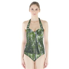 Women s Halter One Piece Swimsuit