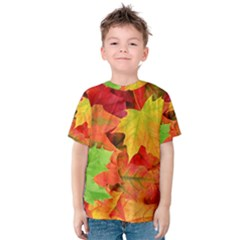 AUTUMN LEAVES 1 Kid s Cotton Tee