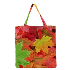 AUTUMN LEAVES 1 Grocery Tote Bags