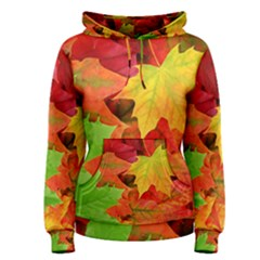AUTUMN LEAVES 1 Women s Pullover Hoodies