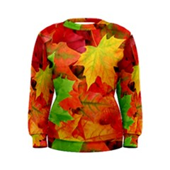 AUTUMN LEAVES 1 Women s Sweatshirts