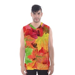 AUTUMN LEAVES 1 Men s Basketball Tank Top