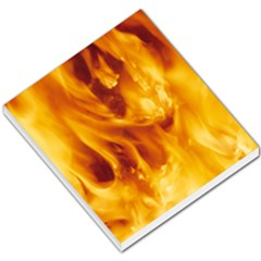 YELLOW FLAMES Small Memo Pads