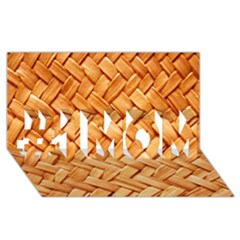 Woven Straw #1 Mom 3d Greeting Cards (8x4)