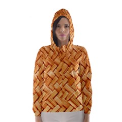 WOVEN STRAW Hooded Wind Breaker (Women)