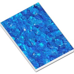 TURQUOISE GLASS Large Memo Pads