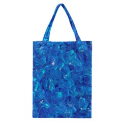 TURQUOISE GLASS Classic Tote Bags