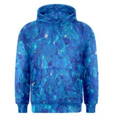 TURQUOISE GLASS Men s Pullover Hoodies