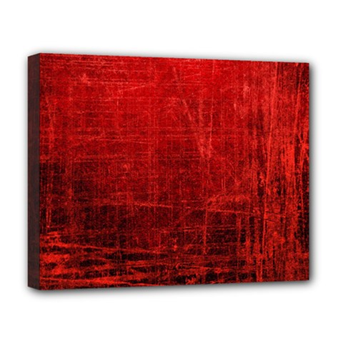 SHADES OF RED Deluxe Canvas 20  x 16