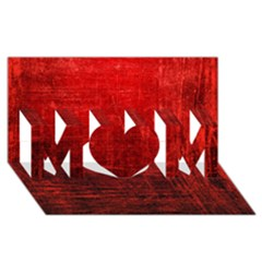 Shades Of Red Mom 3d Greeting Card (8x4)