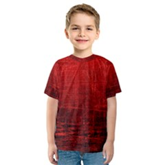 SHADES OF RED Kid s Sport Mesh Tees