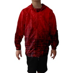 SHADES OF RED Hooded Wind Breaker (Kids)