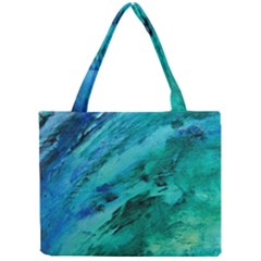 SHADES OF BLUE Tiny Tote Bags