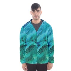 SHADES OF BLUE Hooded Wind Breaker (Men)