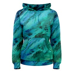 SHADES OF BLUE Women s Pullover Hoodies