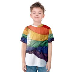 PRIDE FLAG Kid s Cotton Tee