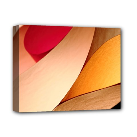 PRETTY ABSTRACT ART Deluxe Canvas 14  x 11