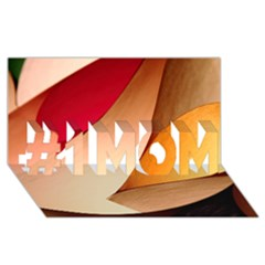 Pretty Abstract Art #1 Mom 3d Greeting Cards (8x4)