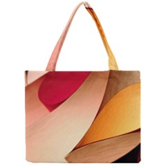 PRETTY ABSTRACT ART Tiny Tote Bags