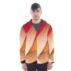 PRETTY ABSTRACT ART Hooded Wind Breaker (Men)