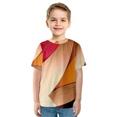 PRETTY ABSTRACT ART Kid s Sport Mesh Tees