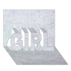 PAPER COLORS GIRL 3D Greeting Card (7x5)