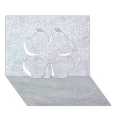 Paper Colors Clover 3d Greeting Card (7x5)