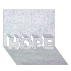 Paper Colors Hope 3d Greeting Card (7x5)