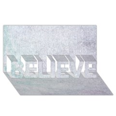 Paper Colors Believe 3d Greeting Card (8x4)