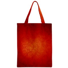 ORANGE DOT ART Zipper Classic Tote Bags