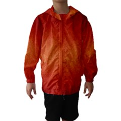 ORANGE DOT ART Hooded Wind Breaker (Kids)