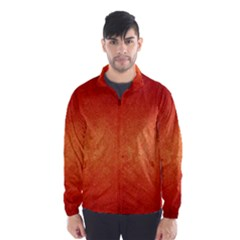 Orange Dot Art Wind Breaker (men)