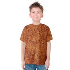 ORANGE CLAY DIRT Kid s Cotton Tee
