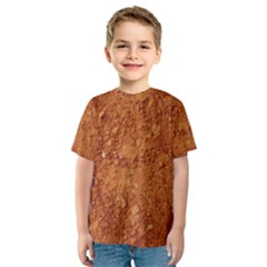 ORANGE CLAY DIRT Kid s Sport Mesh Tees