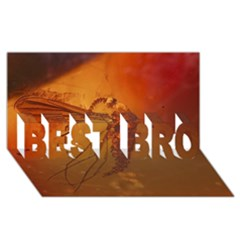 MOSQUITO IN AMBER BEST BRO 3D Greeting Card (8x4)