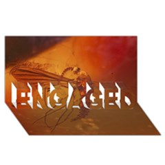 MOSQUITO IN AMBER ENGAGED 3D Greeting Card (8x4)