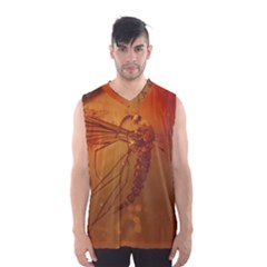 MOSQUITO IN AMBER Men s Basketball Tank Top