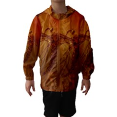 MOSQUITO IN AMBER Hooded Wind Breaker (Kids)