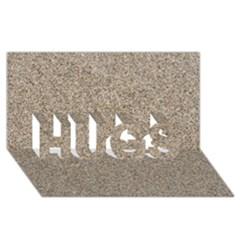Light Beige Sand Texture Hugs 3d Greeting Card (8x4)
