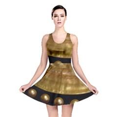 GOLDEN PEARLS Reversible Skater Dresses