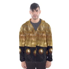 GOLDEN PEARLS Hooded Wind Breaker (Men)
