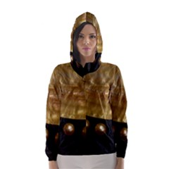 GOLDEN PEARLS Hooded Wind Breaker (Women)