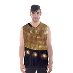 GOLDEN PEARLS Men s Basketball Tank Top