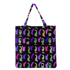 Misc shapes Grocery Tote Bag