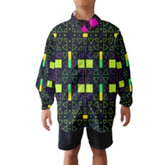 Triangles And Squares Wind Breaker (kids)