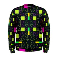 Triangles and squares  Men s Sweatshirt