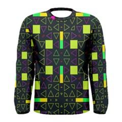 Triangles and squares Men Long Sleeve T-shirt