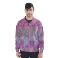 Soft Floral Pink Wind Breaker (men)