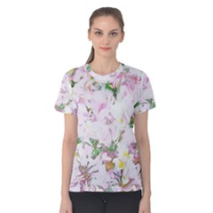 Soft Floral, Spring Women s Cotton Tee